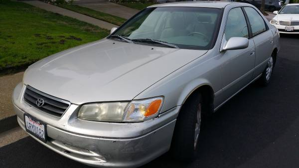 2001 Toyota Camry Le With Low Mileage